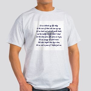 Physical Therapist's Prayer Light T-Shirt