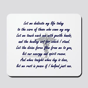 Physical Therapist's Prayer Mousepad