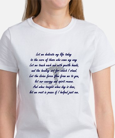 Physical Therapist's Prayer Women's T-Shirt