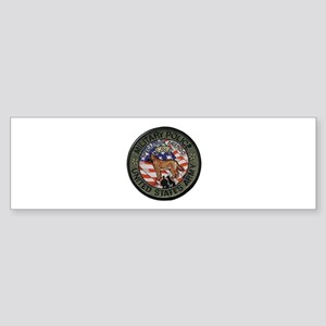 Army MP Canine Bumper Sticker