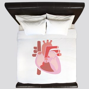 Human Heart King Duvet