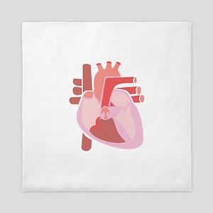 Human Heart Queen Duvet