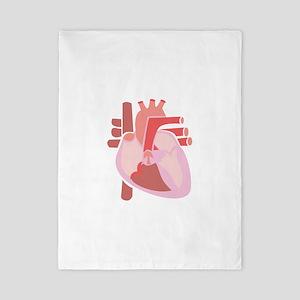 Human Heart Twin Duvet