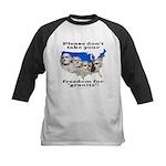 Precious Freedom Kids Baseball Jersey