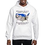 Precious Freedom Hooded Sweatshirt