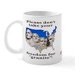 Precious Freedom Mug