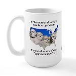 Precious Freedom Large Mug
