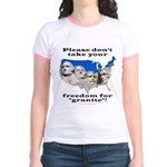 Precious Freedom Jr. Ringer T-Shirt