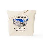 Precious Freedom Tote Bag