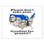 Precious Freedom Small Poster