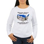 Precious Freedom Women's Long Sleeve T-Shirt