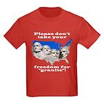 Precious Freedom Kids Dark T-Shirt