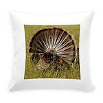 Turkey Fan Everyday Pillow