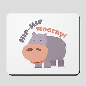 Hip Hip Hooray Mousepad