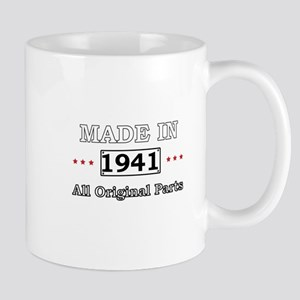 Made in 1941 All Original Parts Mugs