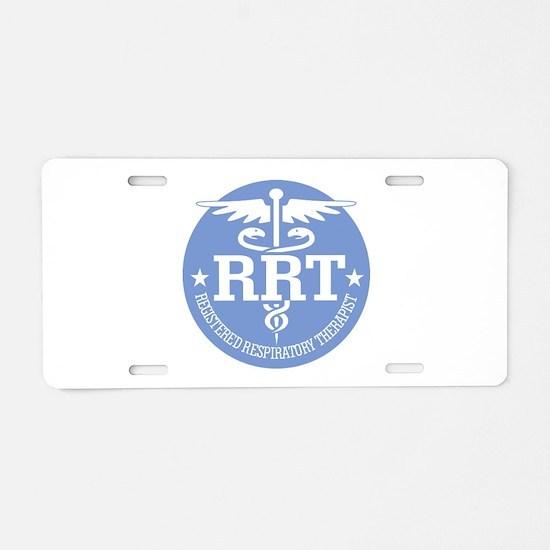 Cad RRT(rd) Aluminum License Plate