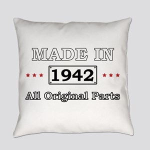 Made in 1942 All Original Parts Everyday Pillow