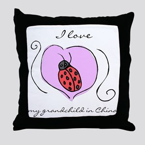Waiting Grandma Throw Pillow