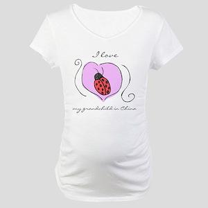 Waiting Grandma Maternity T-Shirt