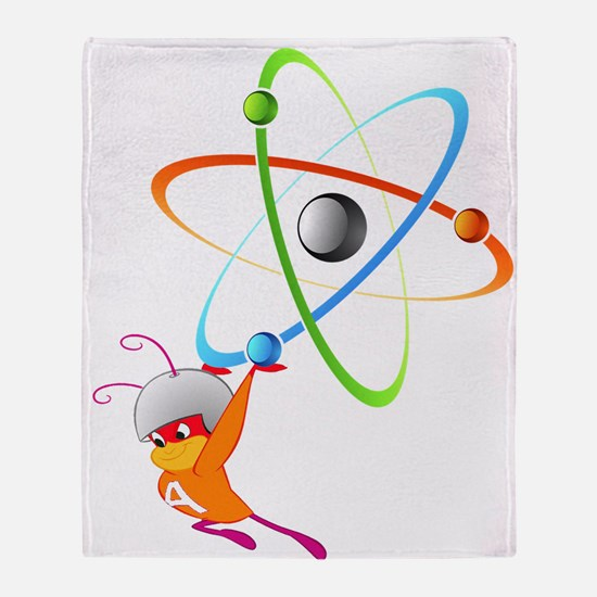 Atom Ant Throw Blanket