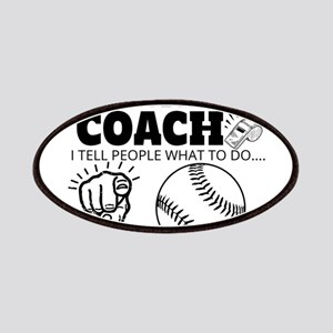 Baseball Coach Humor Patch