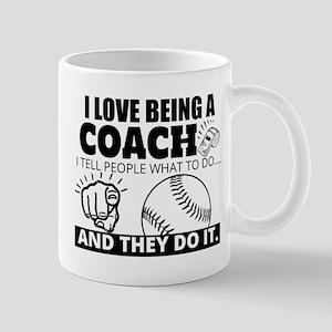 Baseball Coach Humor Mugs