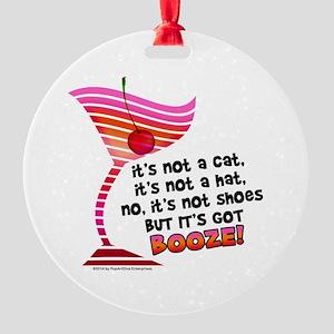 But it's got BOOZE! Ornament