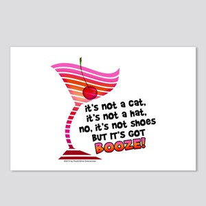 But it's got BOOZE! Postcards (Package of 8)