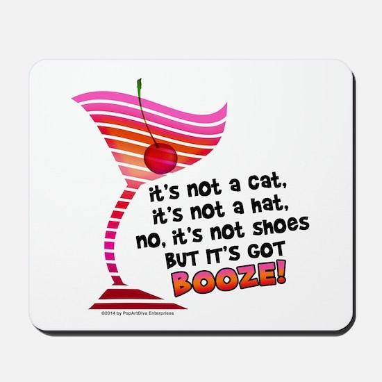 But it's got BOOZE! Mousepad