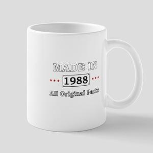 Made in 1988 - All Original Parts Mugs