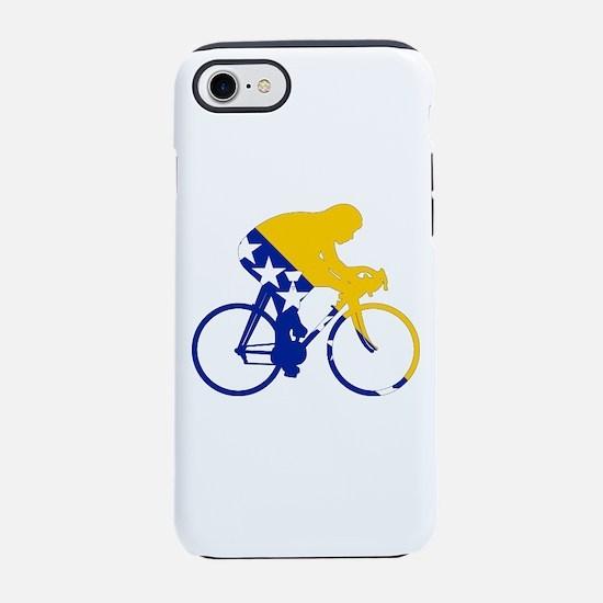 Bosnia Cycling iPhone 7 Tough Case