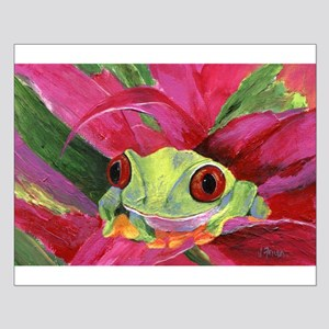 Ruby the Red Eyed Tree Frog Posters
