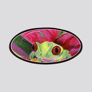 Ruby the Red Eyed Tree Frog Patch