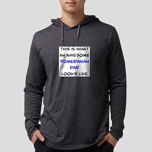 loving pomerian dad Mens Hooded Shirt