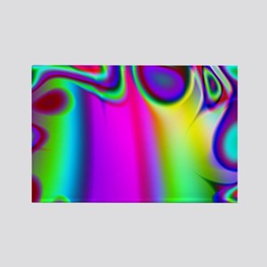 Rainbow Fractal Magnets