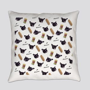 Je t'aime My Frenchie Everyday Pillow