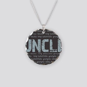 My Favorite People Call Me U Necklace Circle Charm