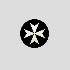 Knights Hospitaller Cross Mini Button