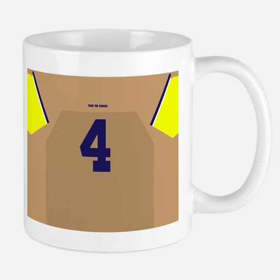 Cute Football michigan Mug
