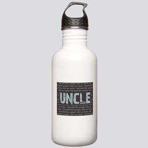 My Favorite People Call Me UNCLE Water Bottle