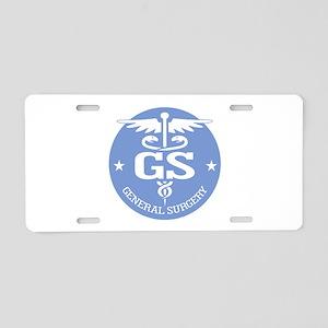 Cad GS (rd) Aluminum License Plate