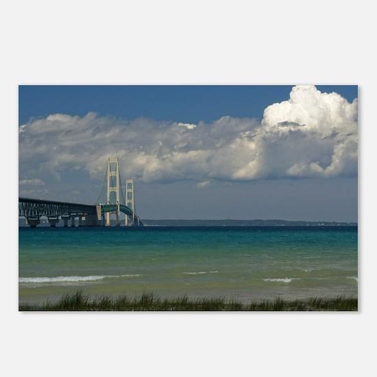 Mackinac Bridge Postcards (Package of 8)
