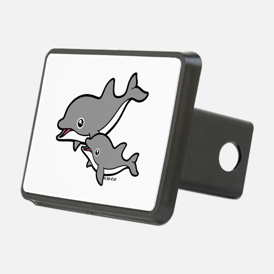 Dolphins Hitch Cover
