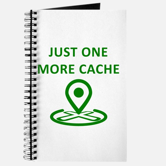 Just One More Cache Journal