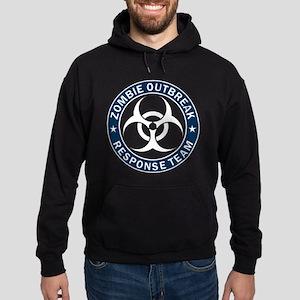 Zombie Outbreak Response Team Blue Hoodie