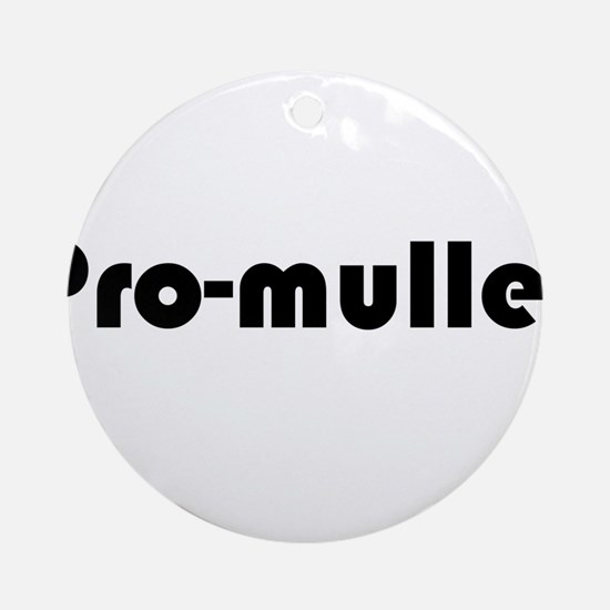 Pro-Mullet Ornament (Round)