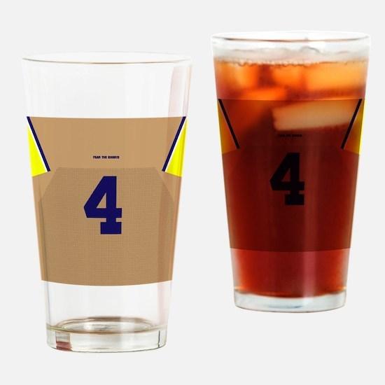 Funny Big ten Drinking Glass