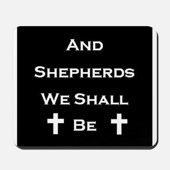 Boondock Saints Shepherds Dark Mousepad