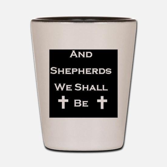 Boondock Saints Shepherds Dark Shot Glass