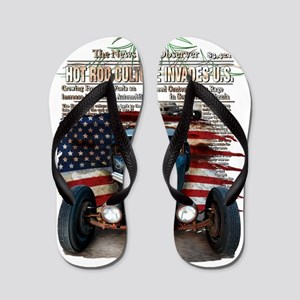 Hot Rod Invasion Flip Flops